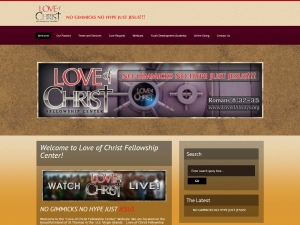 Website Visual - Love of Christ Fellowship Center